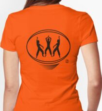 Lating Dance workout t-shirt Womens Fitted T-Shirt