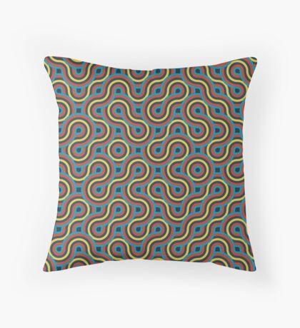 Truchet 003 Throw Pillow