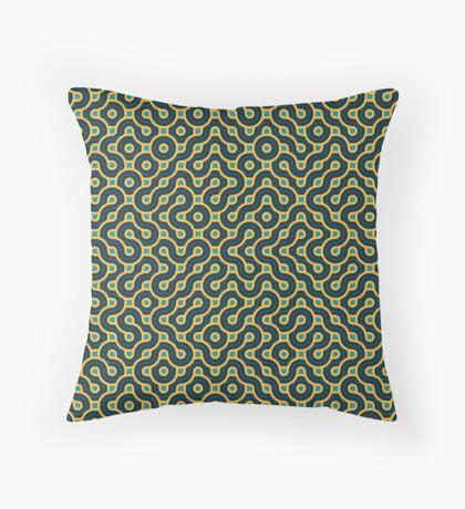 Truchet 002 Throw Pillow