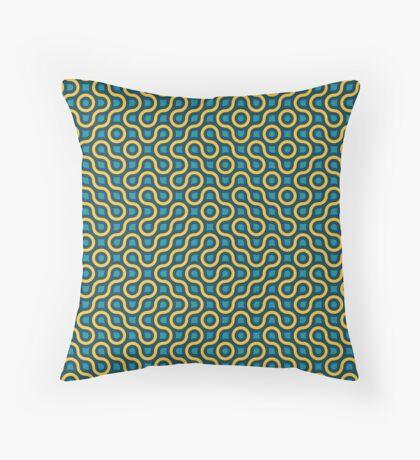 Truchet 001 Throw Pillow