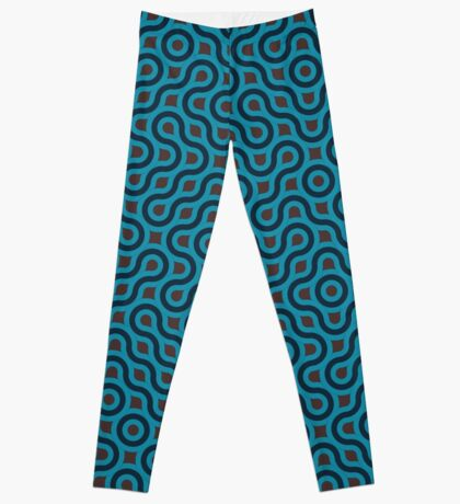 Blue Pattern  Leggings