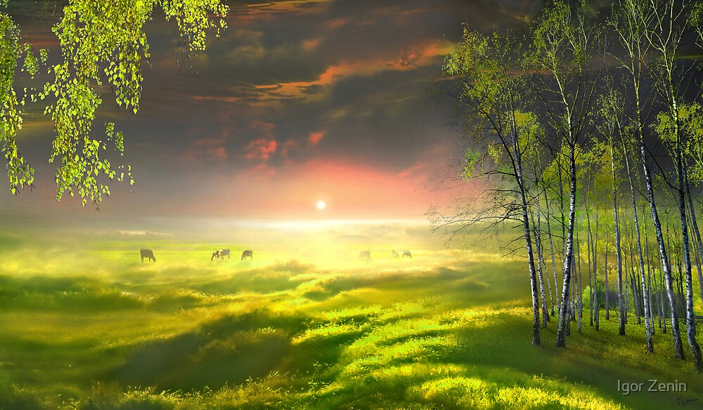 Idyll Place by Igor Zenin