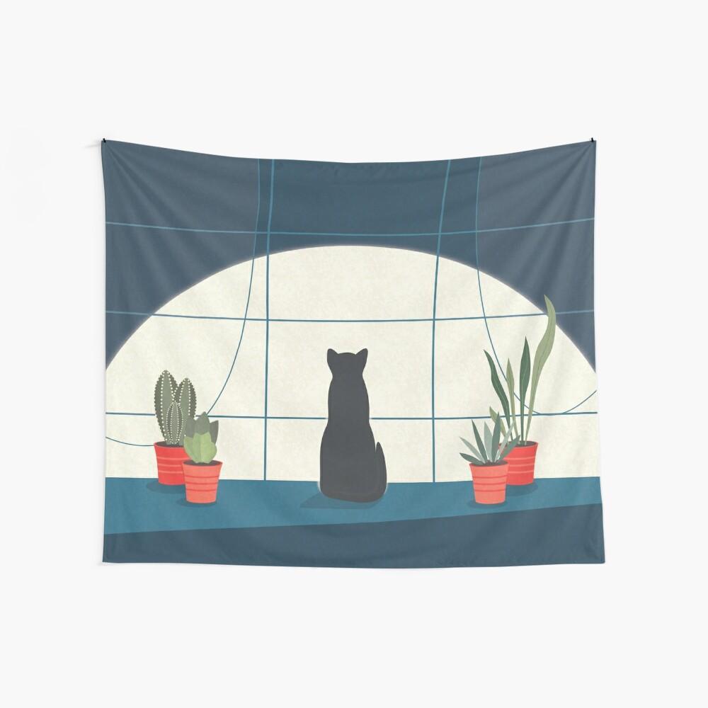 Schlaflosigkeit Wandbehang