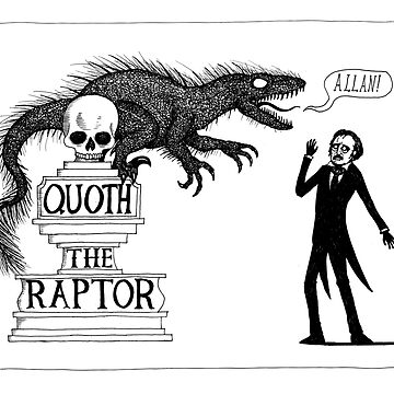 Quoth the Raptor Nevermore by djrbennett