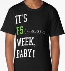 It's F5 Week, Baby! | Crazy News Cycle Long T-Shirt