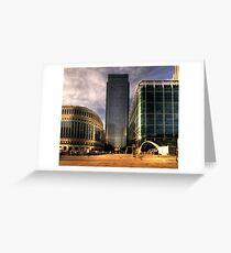 Wharf HDR Greeting Card