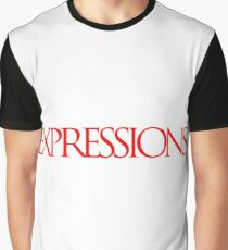 Red Expressions Logo Graphic T-Shirt