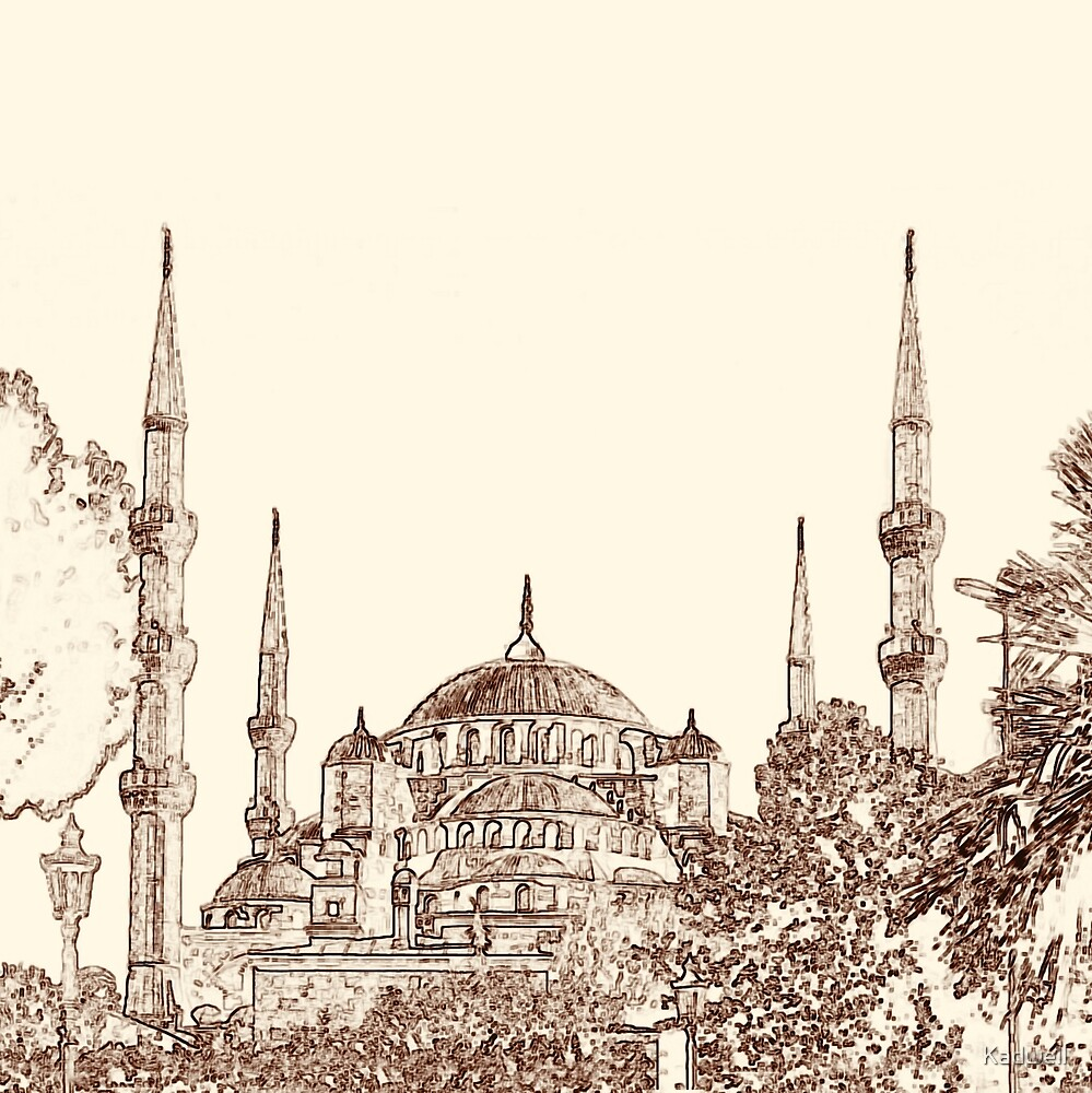 Blue Mosque by Kadwell