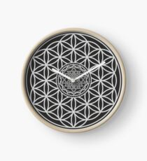 Sri Yantra and the Flower of Life Clock