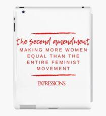 Second Amendment Equality iPad Case/Skin