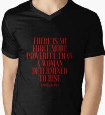 Powerful Woman V-Neck T-Shirt
