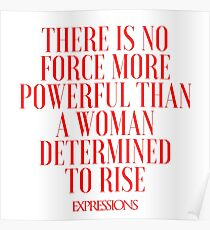 Powerful Woman Poster