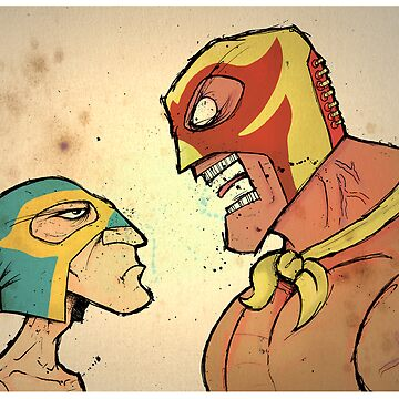 Lucha libre by thedoctor83