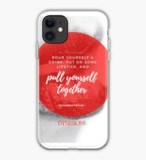 Elizabeth Taylor Quote iPhone Case