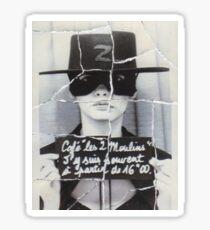 amelie photobooth Sticker
