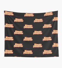 Karate Fighters Wall Tapestry