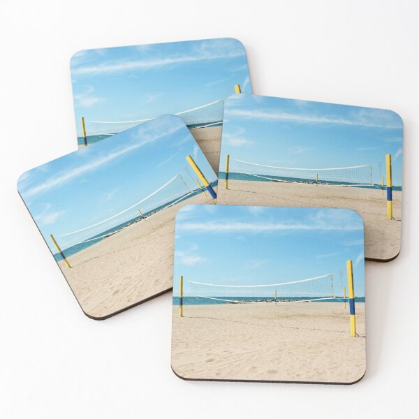 AFE Kew-Balmy Beach, Beach Photography Coasters (Set of 4)