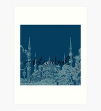 Blue Mosque 2 Art Print