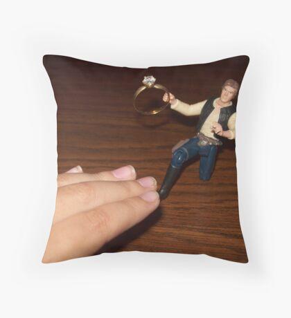 Proposal Throw Pillow