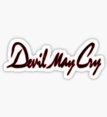 DMC Original Logo Sticker