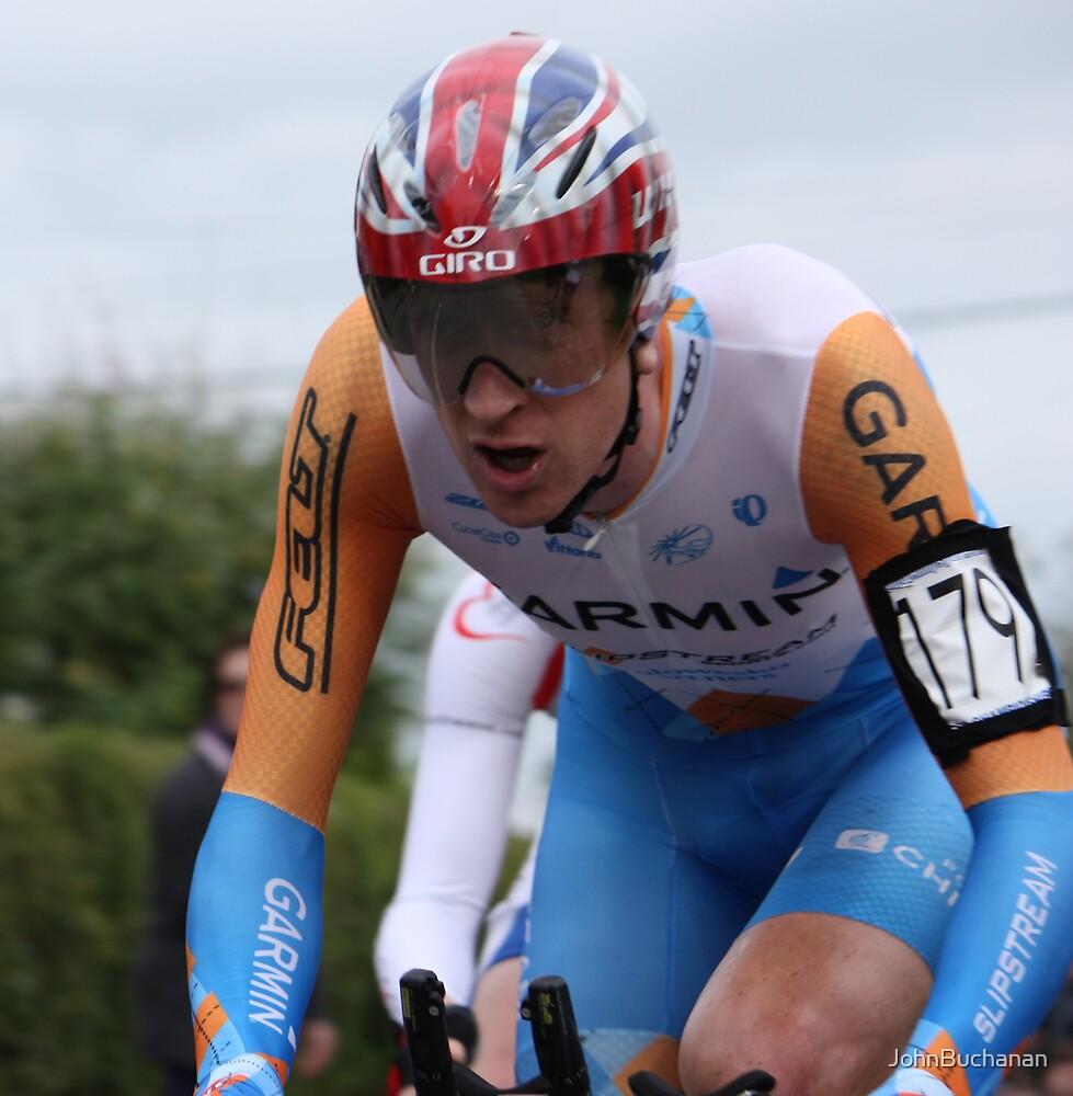 British TT Champion 2009 - Bradley Wiggins by JohnBuchanan