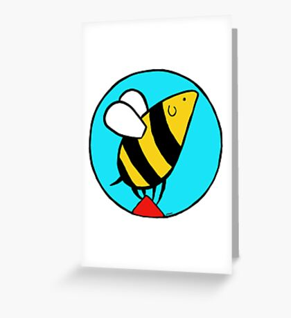 Bumbledog - full color Greeting Card