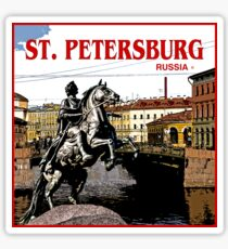 St. Petersburg World Tour of Russia Sticker