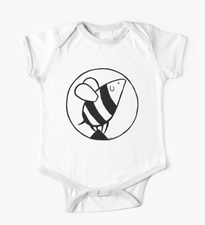 Bumbledog - black and white Kids Clothes