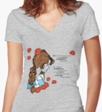 Dorothy's Future Women's Fitted V-Neck T-Shirt