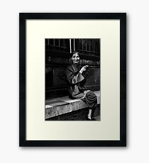 Morning Smoke - Beijing, China Framed Print