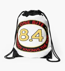 One bite, everybody knows the rules Drawstring Bag