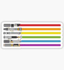 Light saber color 222 Sticker