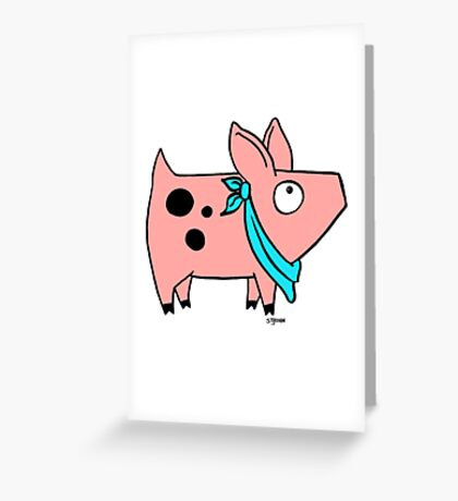 Aark! Greeting Card