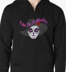 Feliz Dia De Muertos - Day of the Dead  Zipped Hoodie