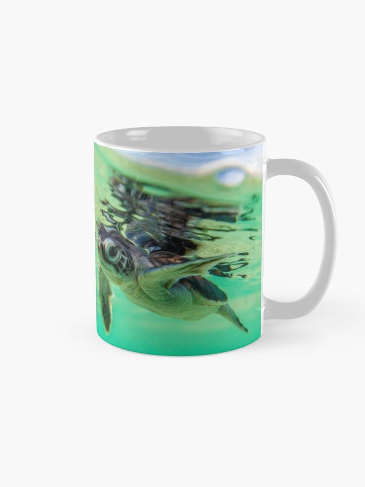 Alternate view of Ocean swimmer Mug