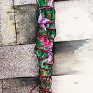 Smudge Stick Watercolor Rose, Eucalyptus and Sage by Michelle Potter