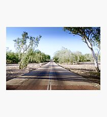 The Road to back of Beyond Photographic Print