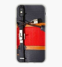 hermes red iPhone Case