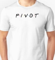 PIVOT (Schwarz) Slim Fit T-Shirt