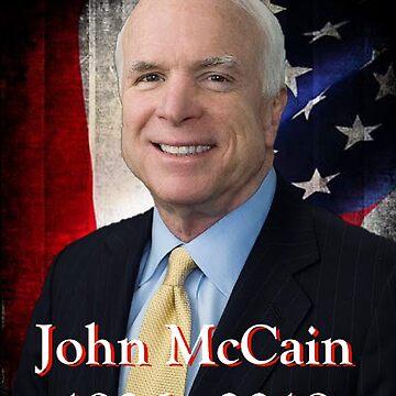 John McCain 1936 - 2018 by nopemom