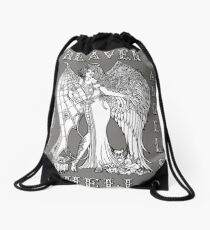 The Battle Within Drawstring Bag