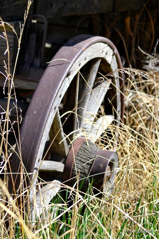Wagon Wheel by moregoodart