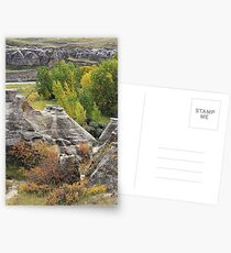 Autumn at Writing-on-Stone Postcards