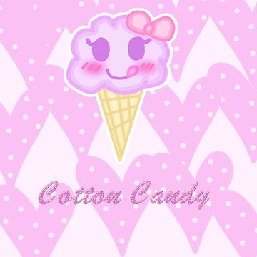 Kawaii Cotton  Candy by mikistarlight