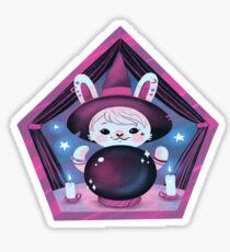 Crystal Ball Bunny Sticker