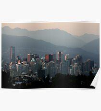 A Smoky Vancouver Evening Poster