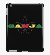 Ganja Herb cannabis marijuana iPad Case/Skin