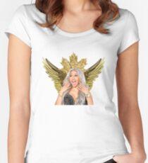 Queen Cardi Women's Fitted Scoop T-Shirt