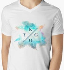 Art Kygo Dj Men's V-Neck T-Shirt