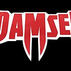 Don't mess with a Damsel - Black by ScrewtapeStudio